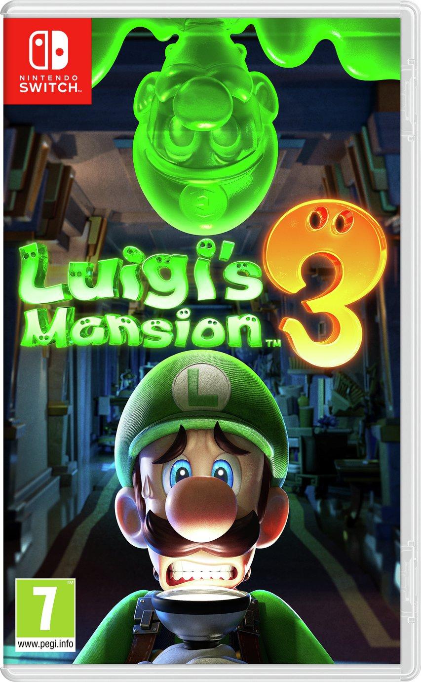Luigi's Mansion 3 Nintendo Switch Pre-Order Game