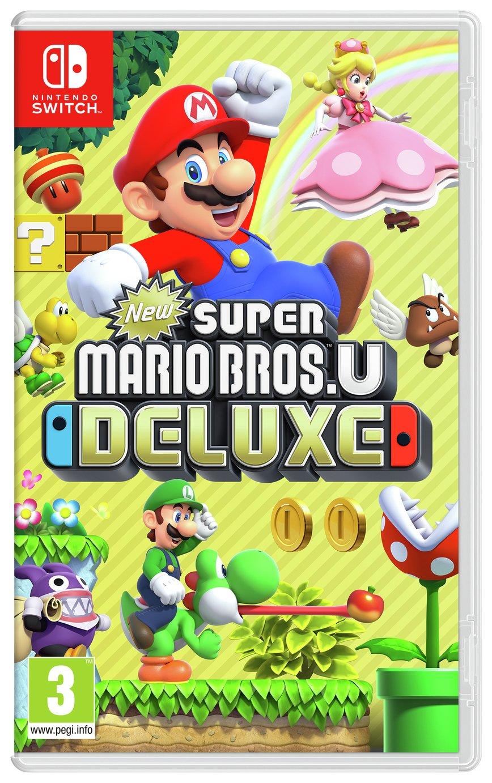 Super Mario Bros. U Deluxe Nintendo Switch Pre-Order Game