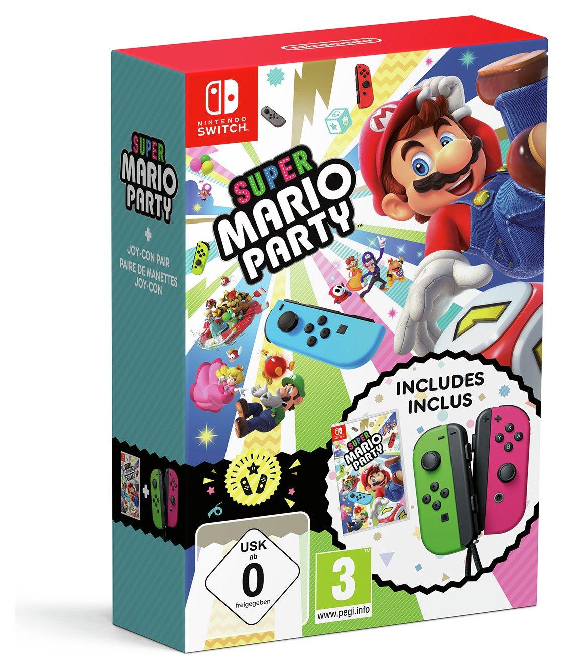 Super Mario Party Nintendo Switch Game & Joy-Con Pre-Order