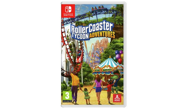 Buy Rollercoaster Tycoon Adventures Nintendo Switch Game | Nintendo Switch  games | Argos