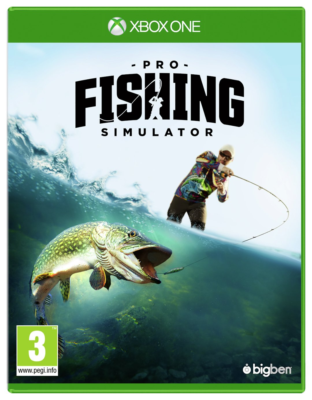 Pro Fishing Simulator Xbox One Game