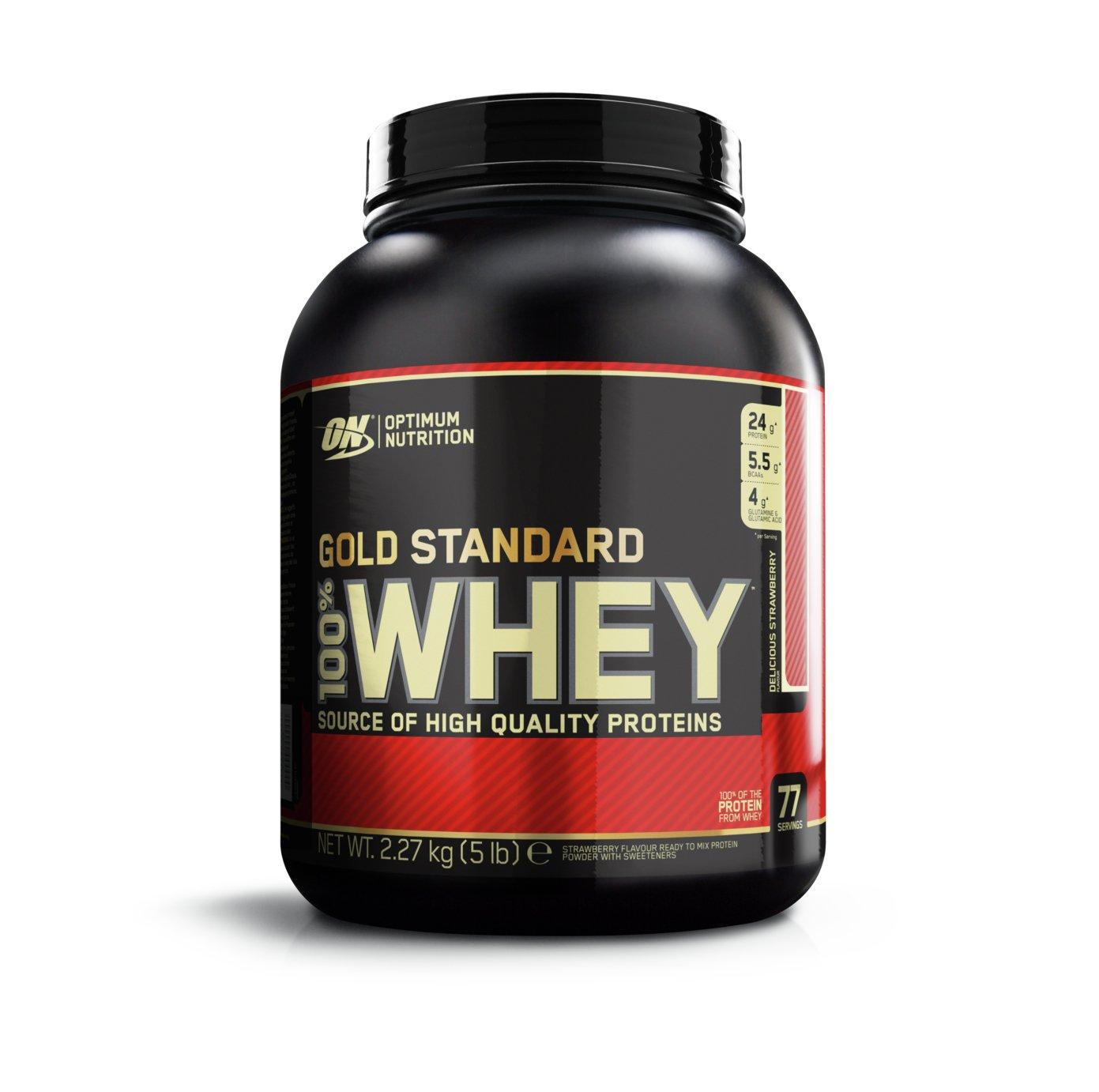 Optimum Nutrition Gold Standard 100% Strawberry Whey
