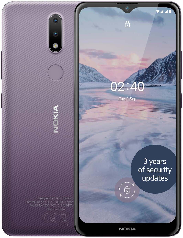 SIM Free Nokia 2.4 32GB Mobile Phone - Purple