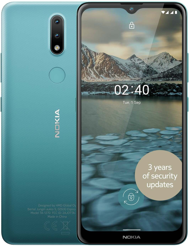 SIM Free Nokia 2.4 32GB Mobile Phone - Blue