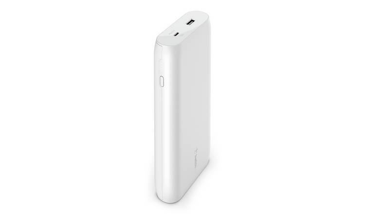 Belkin 20000mAh Power Bank with 30W Power Delivery - White