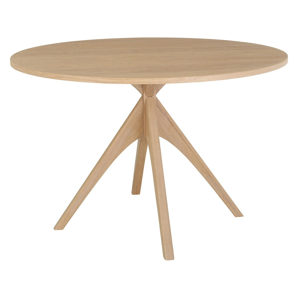 Habitat Austin Oak Round 4 Seater Dining Table
