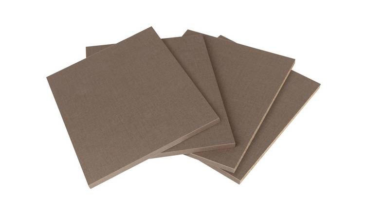 Habitat Munich Single Internal Shelves - 4 Pack