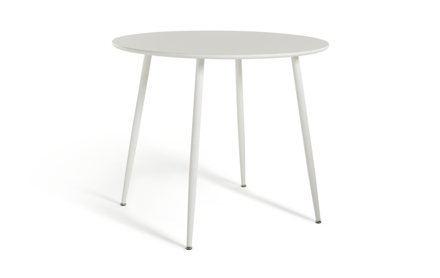 Habitat Beni Round 4 Seater Dining Table - White