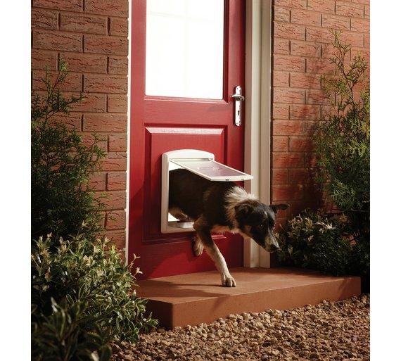 Buy Staywell Medium Pet Door Pet Flaps And Doors Argos