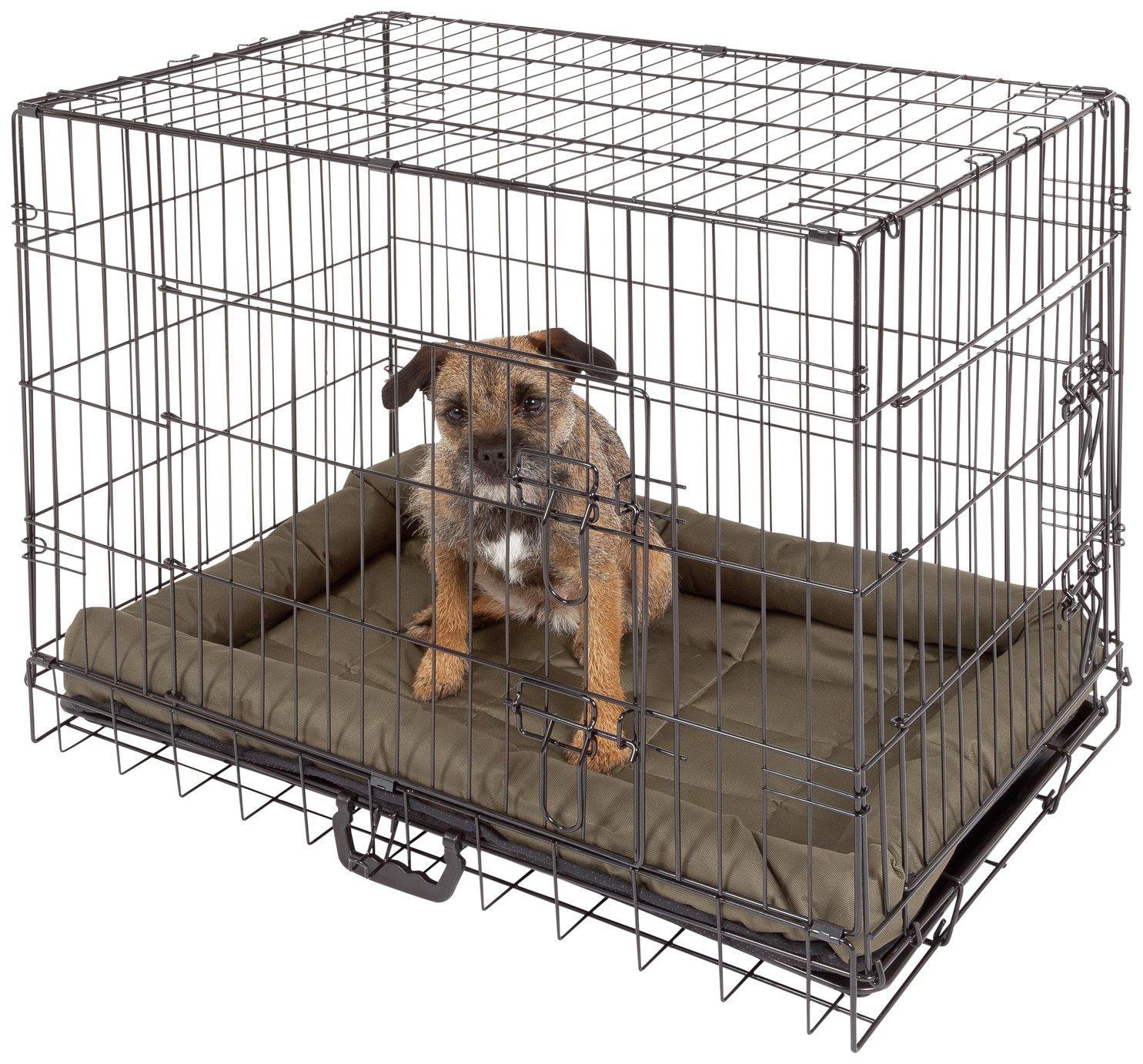 Double Door Pet Cage - Medium