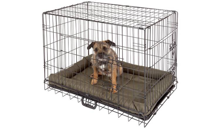 Double Door Pet Cage - Medium