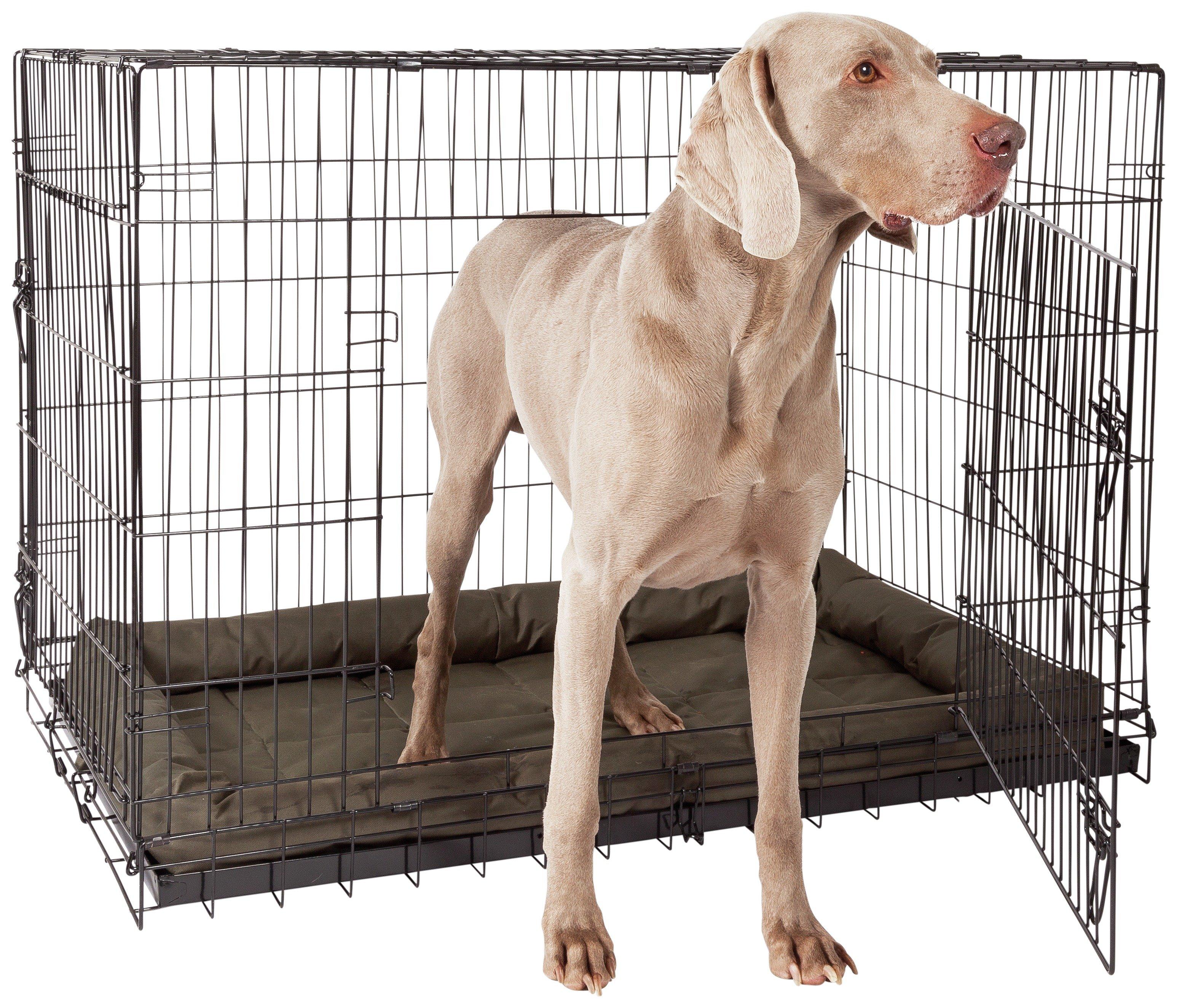 double door pet cage extra