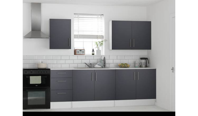 Argos Home Athina 5 Piece Fitted Kitchen Package - Grey