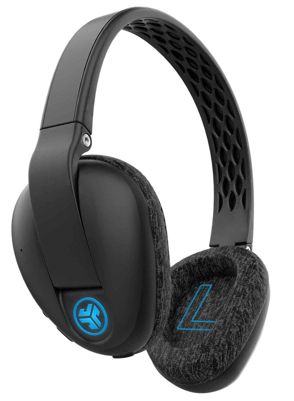 JLab Flex Sport Wireless Over-Ear Headphones - Black