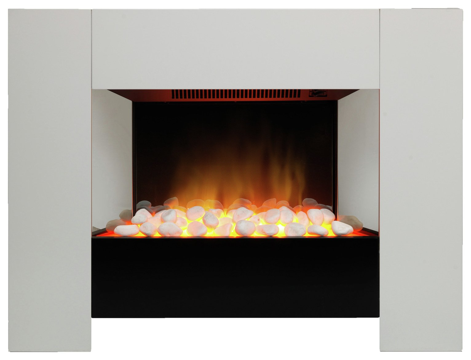 Dimplex Chesil 2kW Electric Fire Suite - White