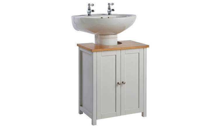 Astonishing Buy Argos Home Livingston Undersink Storage White Bathroom Shelves And Storage Units Argos Home Interior And Landscaping Ologienasavecom