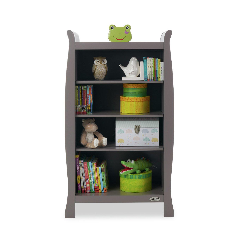Obaby Stamford Bookcase - Taupe Grey