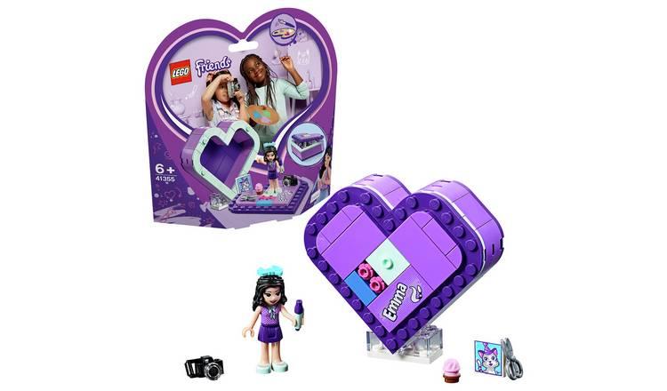 Buy Lego Friends Emmas Heart Box Set 41355 Lego Argos