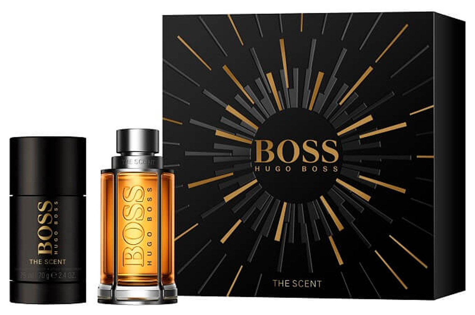 Hugo Boss Men's The Scent 50ml Giftset