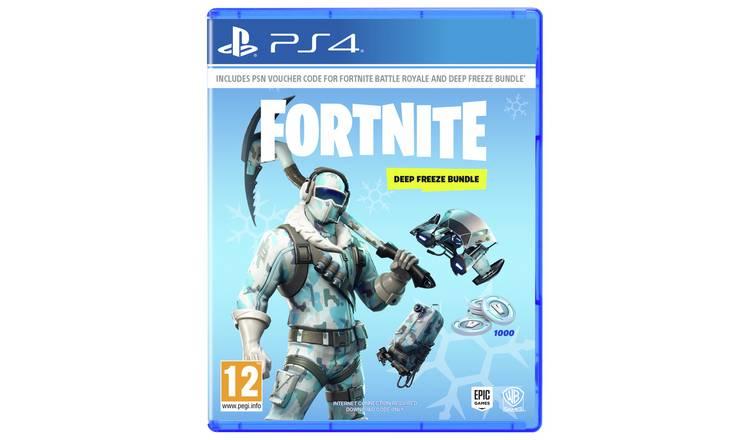 Buy Fortnite Deep Freeze Bundle Ps4 Ps4 Games Argos