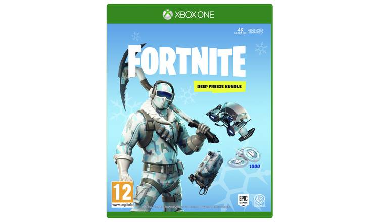 Buy Fortnite Deep Freeze Bundle Xbox One Xbox One Games Argos