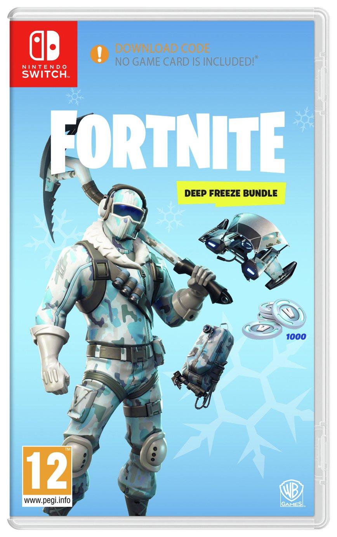 Buy Fortnite Deep Freeze Bundle Nintendo Switch Nintendo Switch