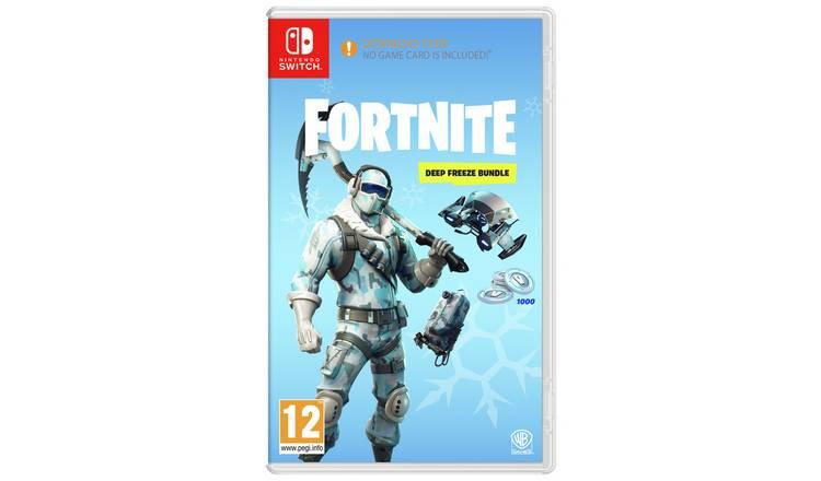 fortnite deep freeze bundle nintendo switch - freeze pack fortnite