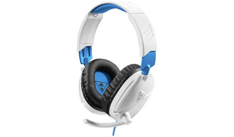 Buy Turtle Beach Recon 70p Ps4 Xbox One Pc Headset White