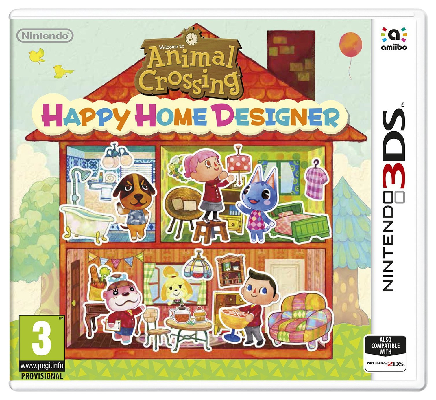 Animal Crossing: Happy Home Designer 3DS Game