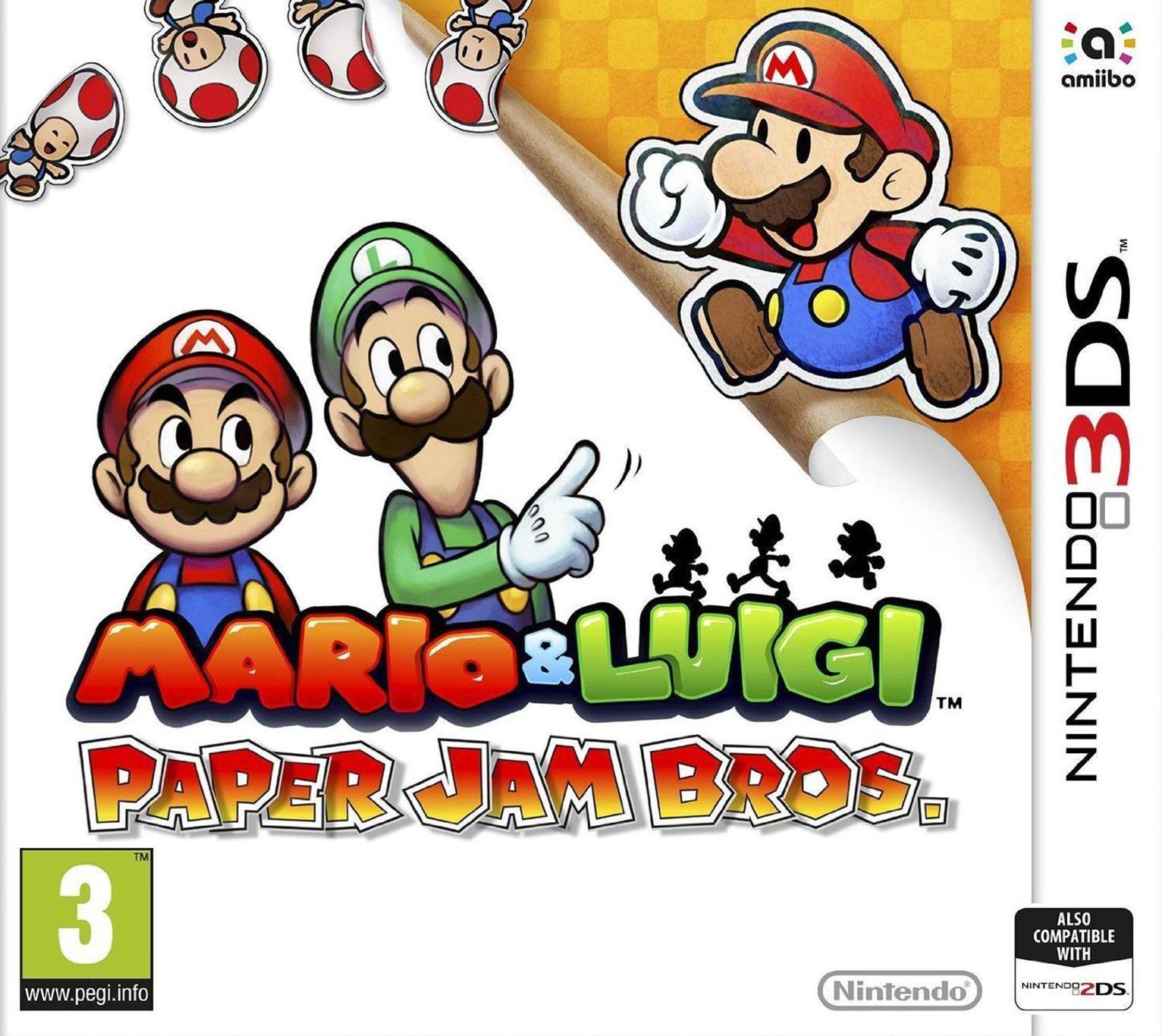 Mario and Luigi: Paper Jam Bros Nintendo 3DS Game