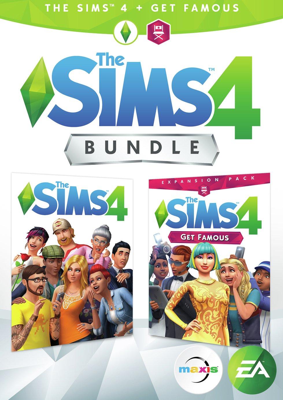 The Sims 4 & Get Famous Expansion PC Bundle