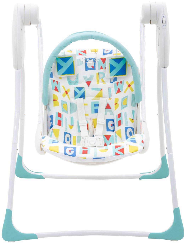 Graco Baby Delight Swing - Block Alphabet Best Price, Cheapest Prices