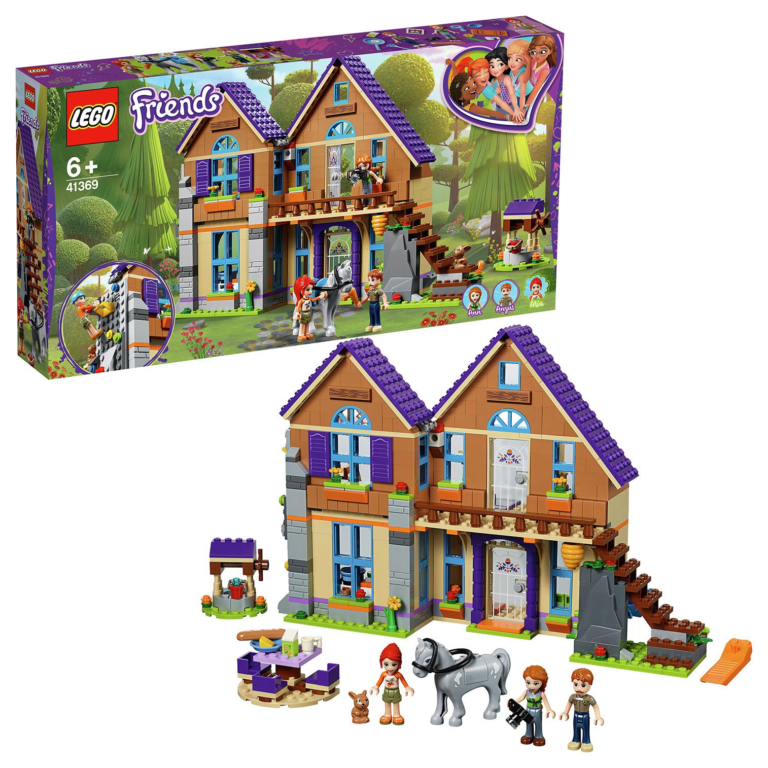 Buy Lego Friends Mia S Doll House Set 41369 Lego Argos