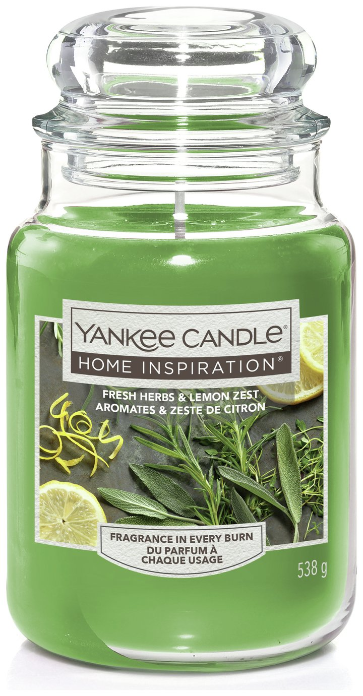 Image of Yankee Candle Fresh Herbs & Lemon Candle