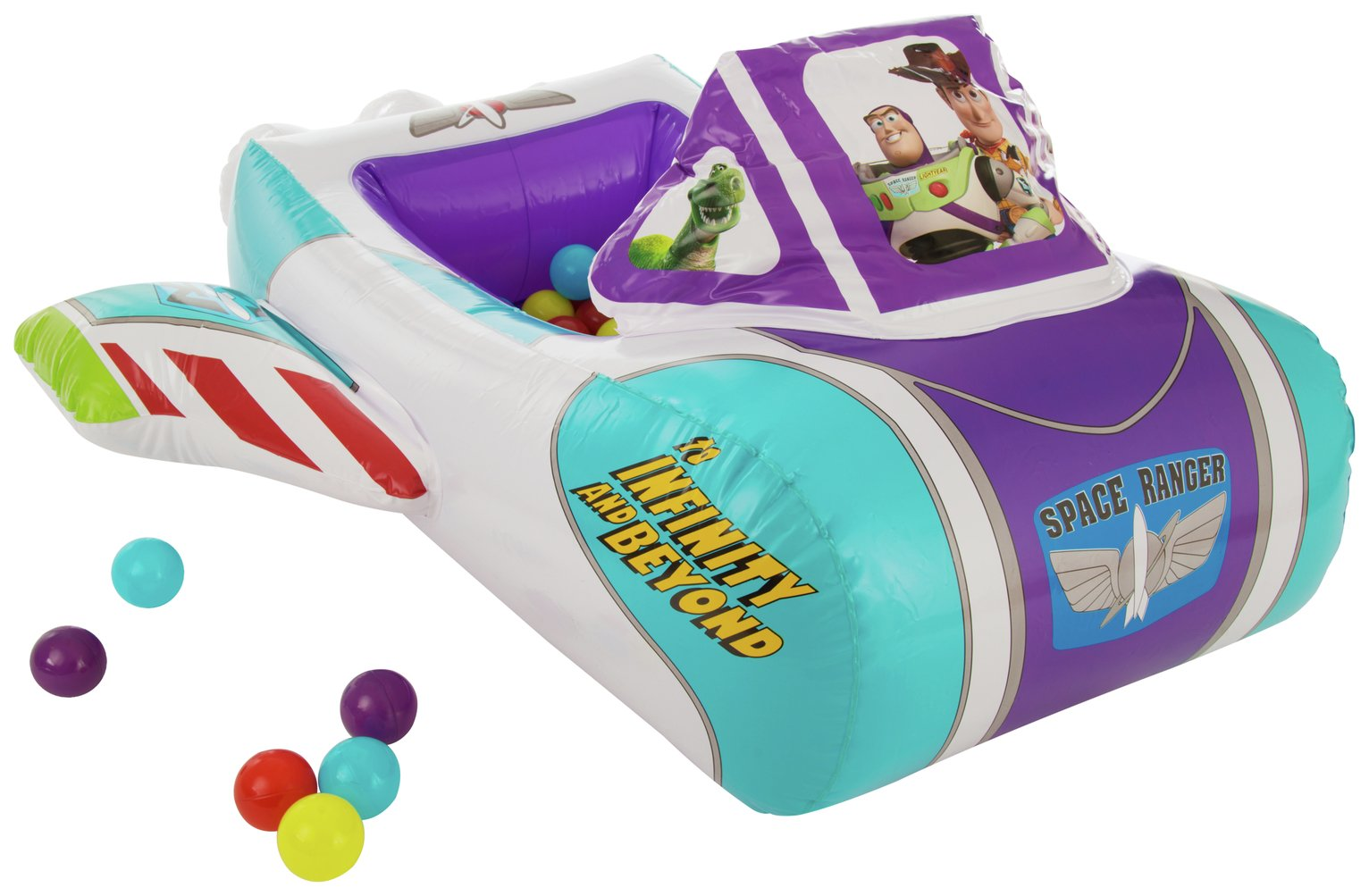 Toy Story Vehicle Pit with 10 Balls