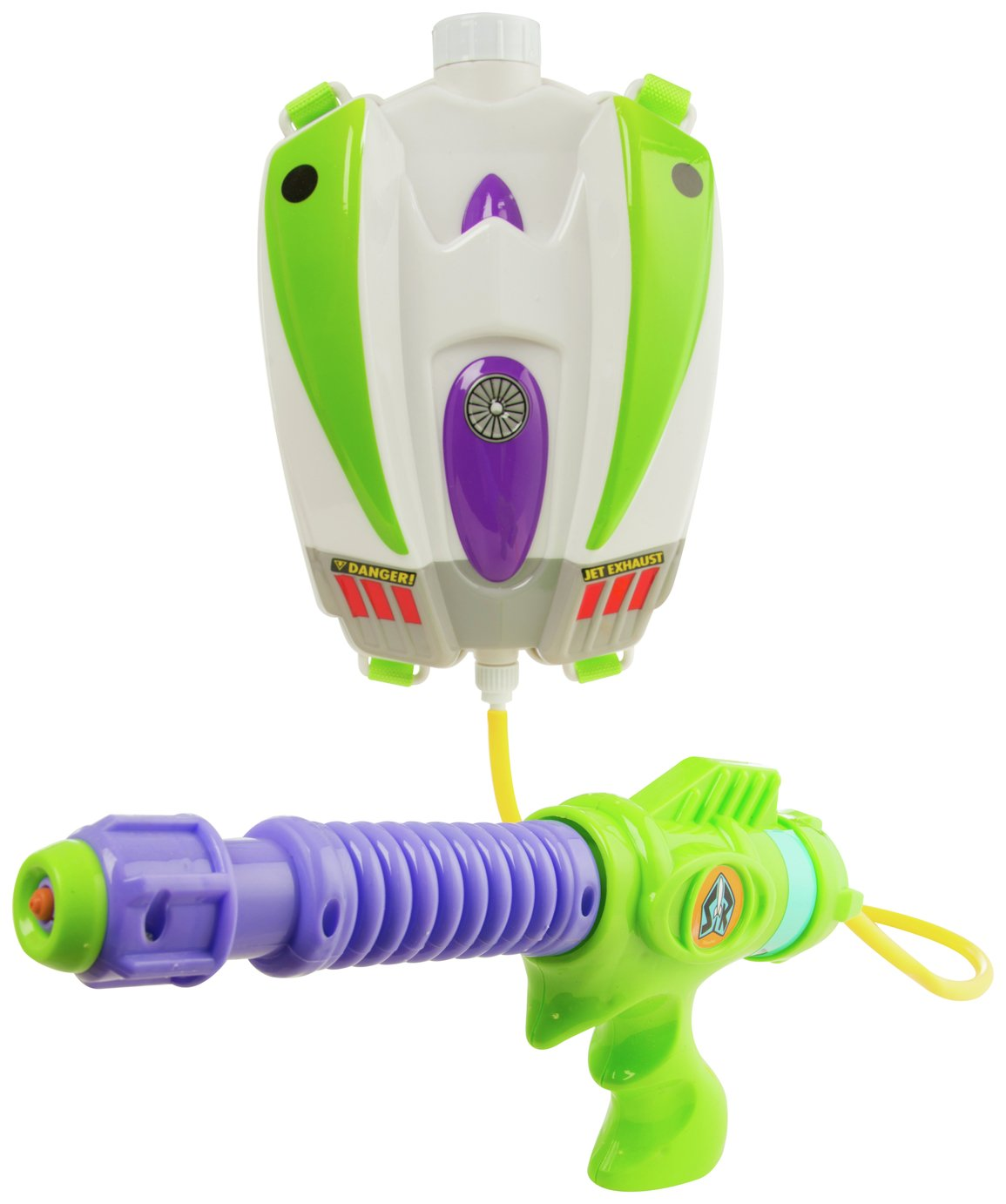 Toy Story Buzz Lightyear Water Blaster Backpack