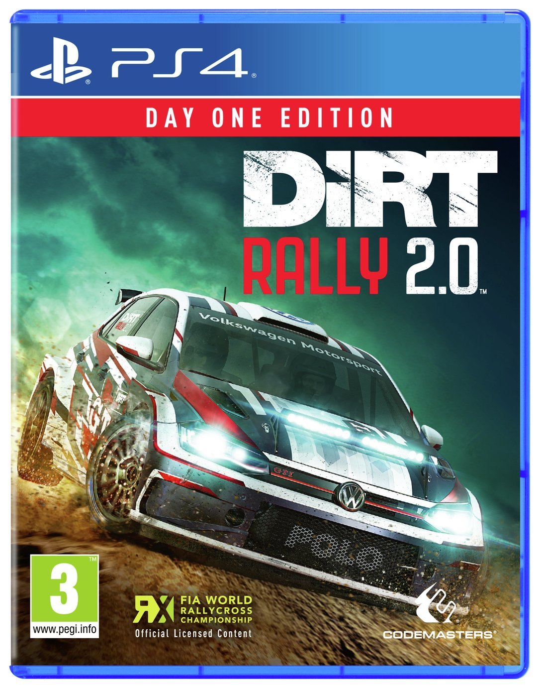 DiRT Rally 2.0 Day One Edition PS4 Pre-Order Game