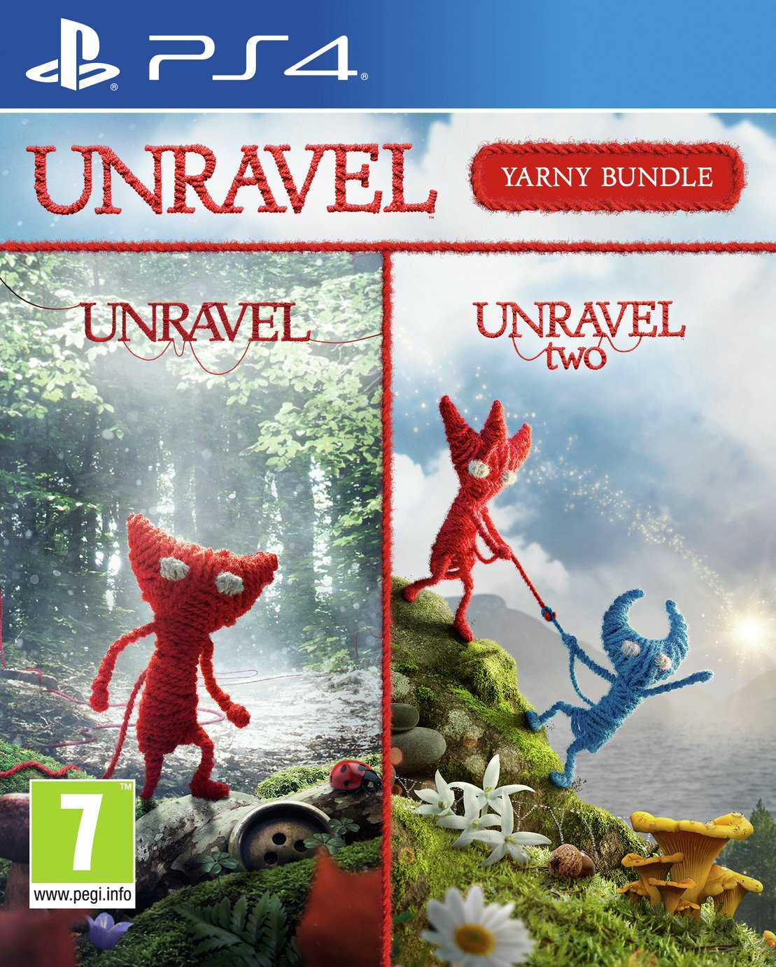 Unravel: Yarny Bundle PS4 Game