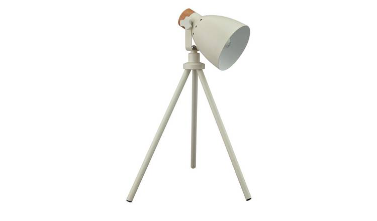 Argos Home Stockholm Cream Tripod Table Lamp