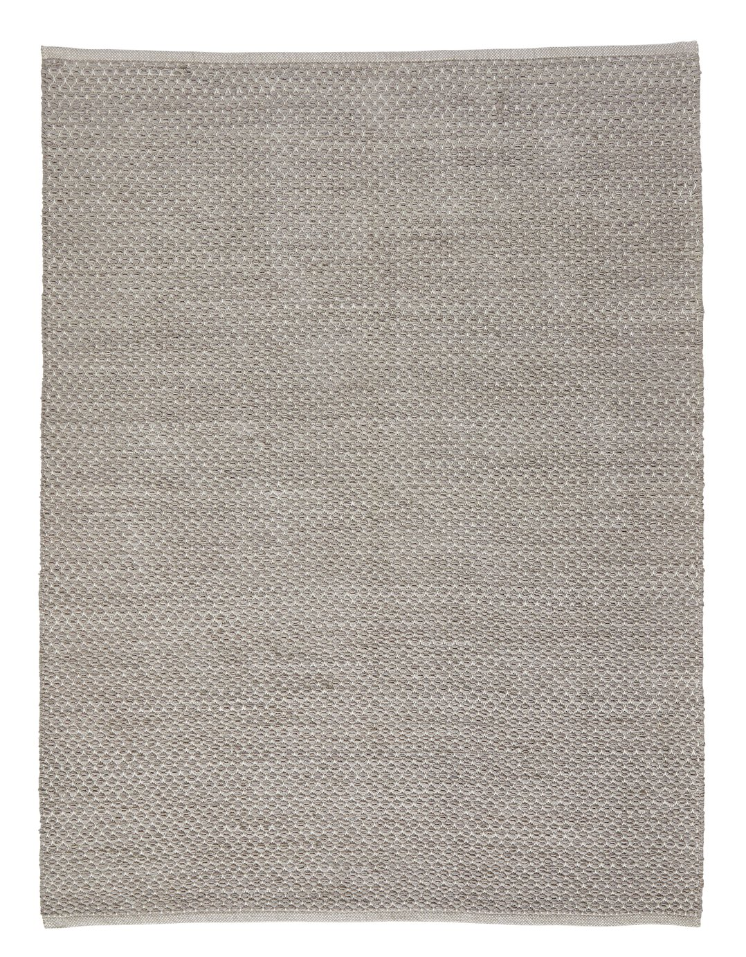 Argos Home Global Diamond Flatweave Rug - 120x160cm - Grey