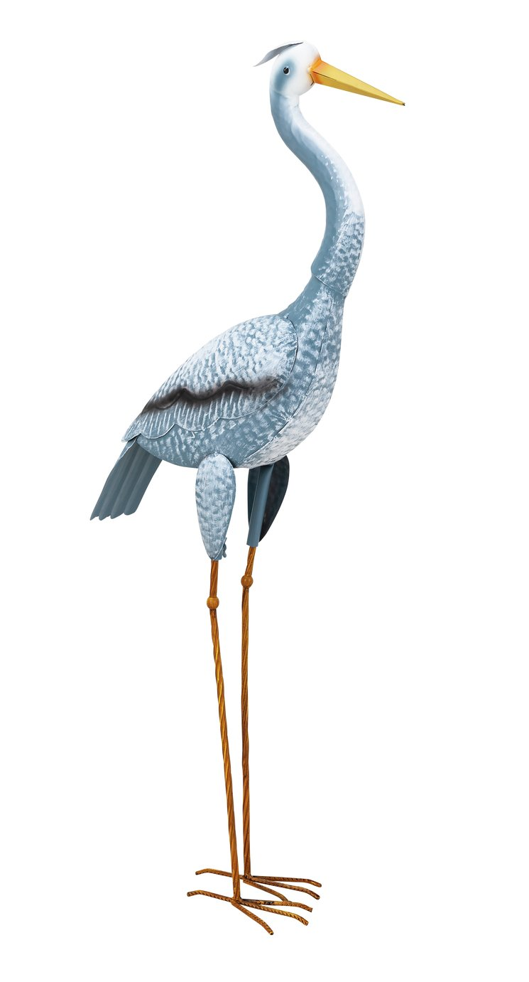Harry Heron Metal Garden Ornament