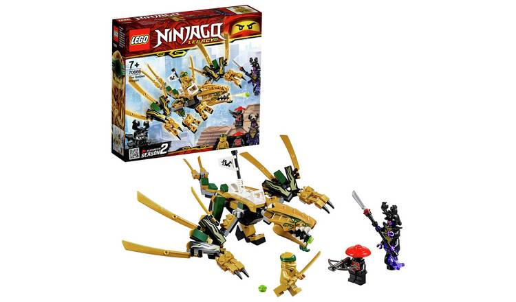 Buy Lego Ninjago The Golden Dragon 70666 Lego Argos