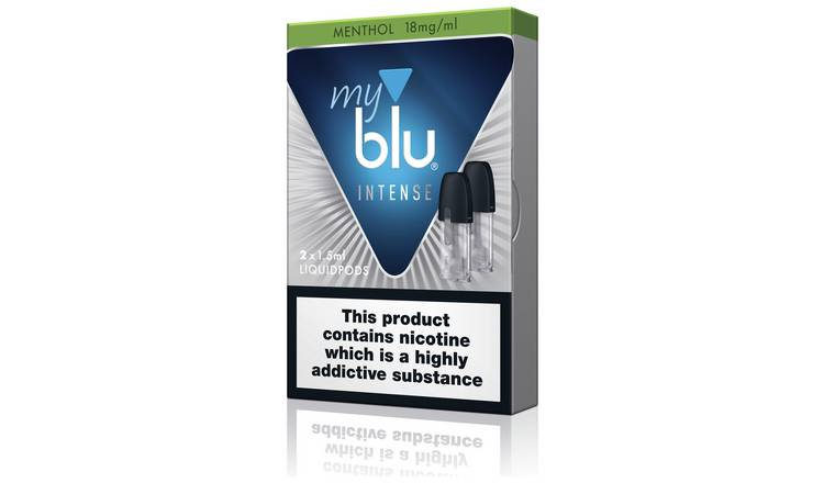 My Blu Intense Liquidpods Menthol 18mg 2 Packs of 2