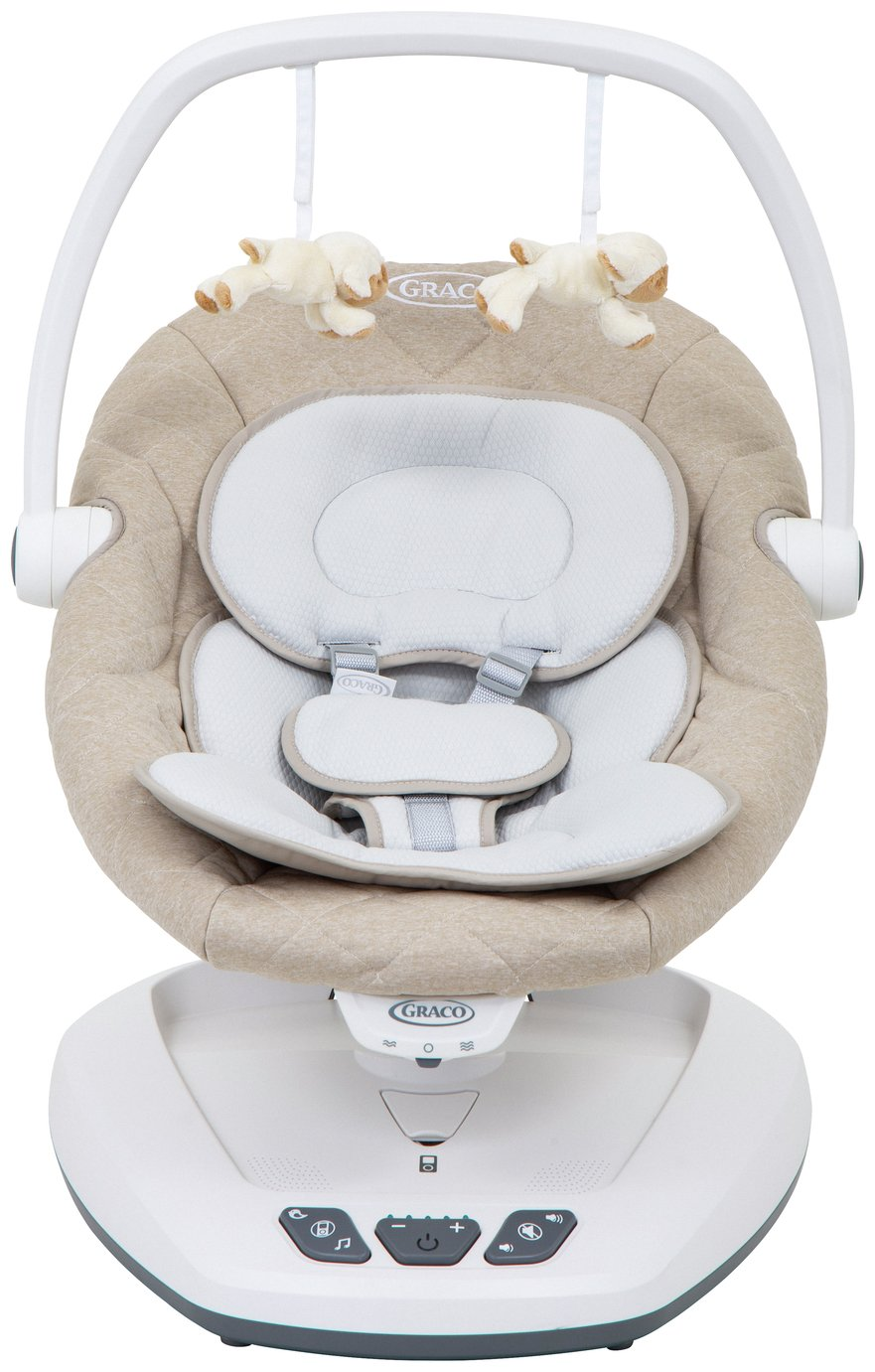 Graco Move with Me Soother Bouncer - Sparrow Best Price, Cheapest Prices