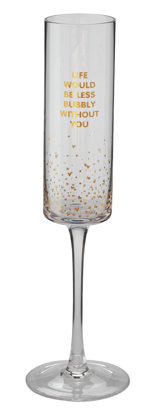 Argos Home Champagne Glass