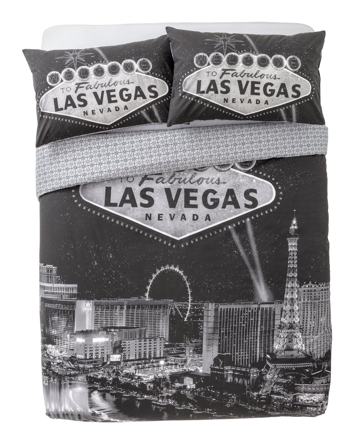 Argos Home Las Vegas Bedding Set - Kingsize