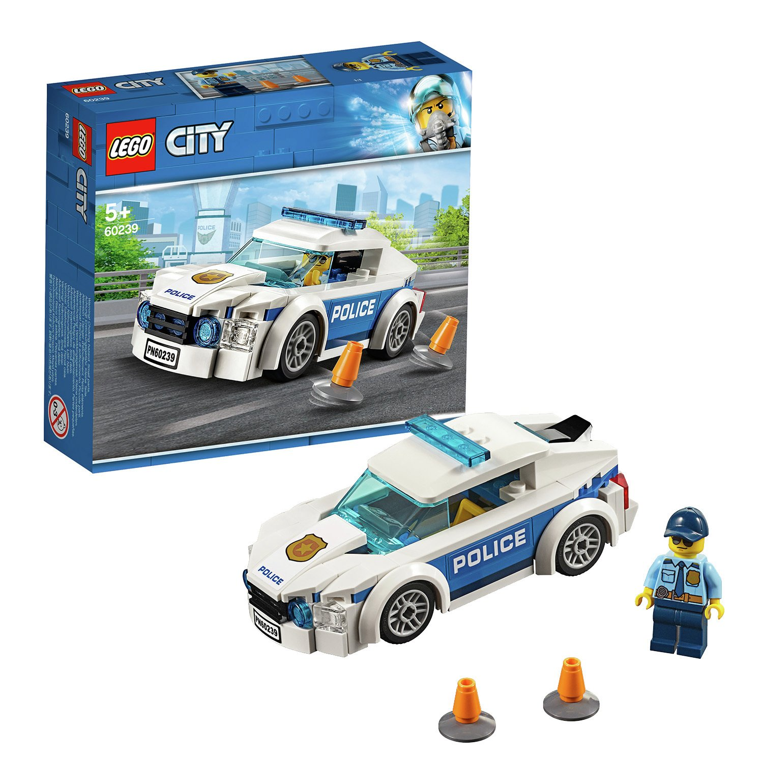 LEGO City Police Patrol Toy Car - 60239