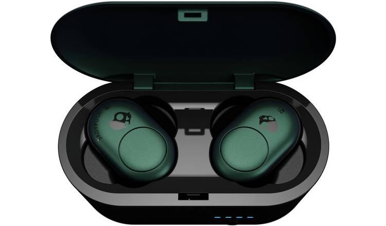 el precio más bajo más fotos ropa deportiva de alto rendimiento Buy Skullcandy Push In-Ear True Wireless Headphones - Green | Headphones  and earphones | Argos