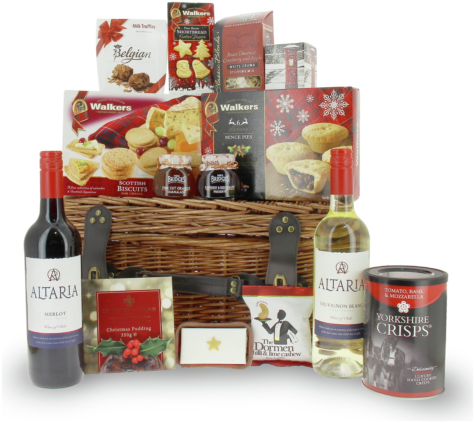 Lanchester Gifts Luxury Festive Gift Hamper