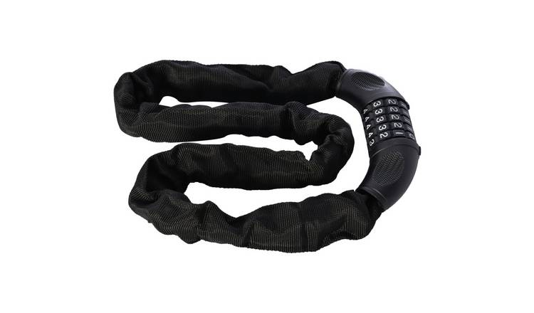 Oxford Combination Chain Bike Lock - 0.9m